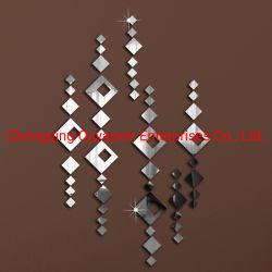 Кристально чистый съемный наружного зеркала заднего вида на стену наклейки на стену искусства