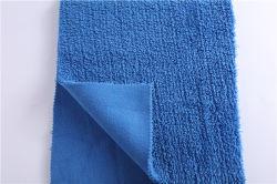 A fábrica de vendas directas da trama de Shu lã de algodão Cordeiro composto de lã superfina velo polar
