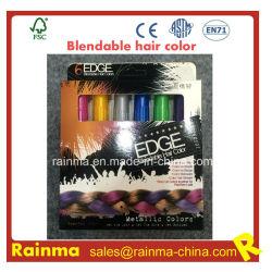 Clips de couleur de cheveux Blendable Non-Toxic sèche Chalk