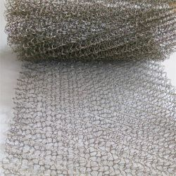 Étoffes de bonneterie Wire Mesh Tube en acier inoxydable, filtre Gas-Liquid Wire Mesh