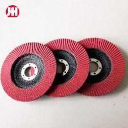 Disco/disco abrasivi personalizzati della falda dell'allumina di Zirconia di prezzi all'ingrosso