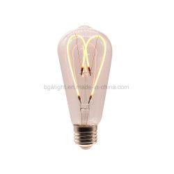 E26 ST64/ ST58 l'amour FILAMENT LAMPE Edison pour l'éclairage à LED montage