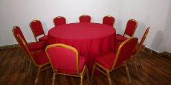 Chaises et tables de banquet de mariage de bonne qualité Président Président de l'Hôtel Restaurant Salon Salle à manger Chaises empilables et tableaux