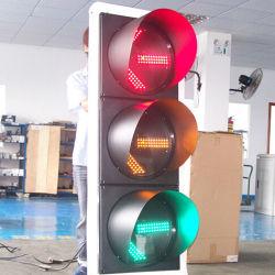 300mm Epistar Solar LED luces LED parpadea la luz de advertencia de tráfico