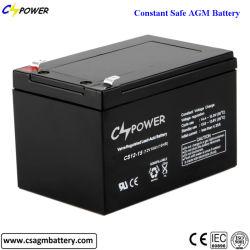 Batterijen met lange levensuur 12V15ah van het Lood van het Onderhoud van het Ontwerp de Vrije Zure Navulbare