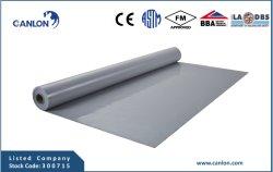 PVC Pre-Applied Cold-Applied ou une membrane étanche avec Non-Woven Fleece
