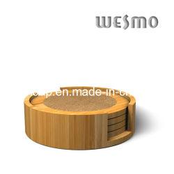 Стеклянный сосуд из бамбука против американских горках сдвиньте коврик