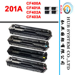 العلامة التجارية الجديدة اللون خرطوشة الحبر لإتش بي 201A (CF400A / CF401A / CF402A / CF403A)