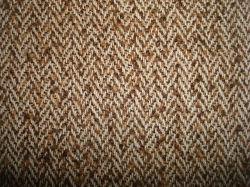 ウールのBlenchdの豪華なループヤーンによって染められるヘリンボンファブリック