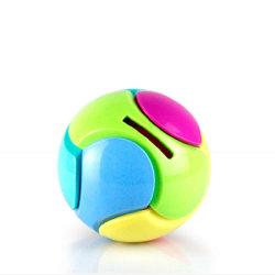 Jouets éducatifs cadeaux de l'assemblage ball balle Tirelire Puzzle en plastique