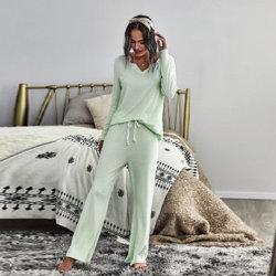 Pour les femmes d'hiver Nighty Pyjama pyjamas de vêtements de nuit