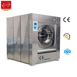 Entièrement automatique de la rondelle en acier inoxydable personnalisé Commercial Extracteur/nettoyage à sec/sécheur/nettoyer//blanchisserie Machine à laver industrielles pour l'hôtel/Hôpital