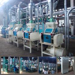 우갈리를 만드는 20T 옥수수 밀링 기계