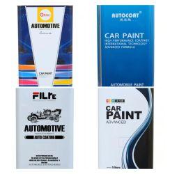 높은 광택 Clearcoat 표준 건조용 가득 차있는 필름을 강조하는 자동 페인트 차 페인트 HS