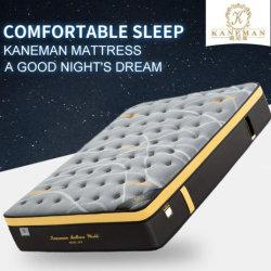 Imballaggio appiattito della mobilia della camera da letto del materasso di molla della gomma piuma di memoria