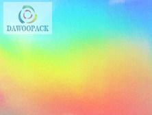 1090mm (DW01) Rainbow película holográfica Pet
