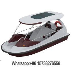 Pedal de fibra de água em aço inoxidável de quatro lugares de barco barco para adultos e crianças