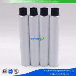 바디 로션 알루미늄 타원형 관을%s 장식용 플라스틱 PE 포장 백색 관