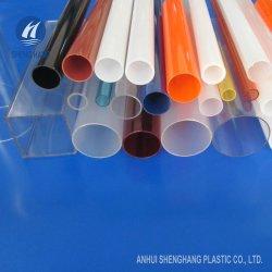 Várias cores de perfis extrudados de tubos de acrílico para exibição de cosméticos