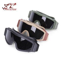 Tácticas de combate militar Óculos para Paintball Caça fotografar os óculos de segurança