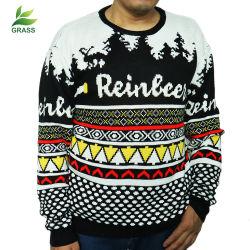Populaire Douane 100% van Kerstmis Katoenen Mensen Gebreide Sweater