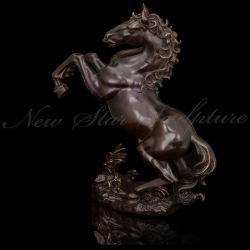 Латунные лошадь скульптура бронзового литья
