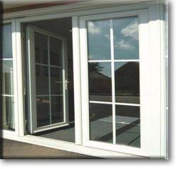La moda cierra bien Swing estándar americano de aluminio de doble vidrio templado Casement Windows