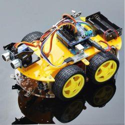 蒸気Edutionのための障害回避のロボット車を追跡する熱い販売のスマートなBluetooth