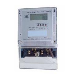 Einphasiges Digital LCD mit Hintergrundbeleuchtung-Bildschirmanzeige-elektronischem KWH-Messinstrument