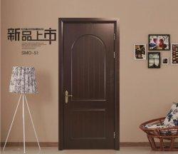 Nueva llegada WPC compuesto de plástico de madera puerta para Habitación Interior