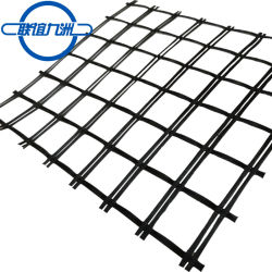 Alta resistência à tracção preços Geogrid Glassfiber Geogrid de fibra de vidro para pavimentação asfáltica