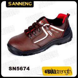 [سنّنغ] أمان جزمة مع كاملة جلد فرعة حذاء ([سن5674])