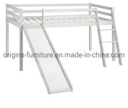 Estrutura da cama Cabina infantis com deslize e Escada