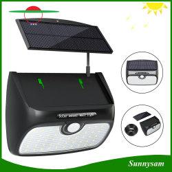 48светодиоды пассивные инфракрасные детекторы движения съемный датчика солнечного настенный светильник для использования вне помещений светодиодный индикатор
