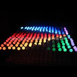[لد] يبرمج كرة زخرفة عيد ميلاد المسيح منظر طبيعيّ يشعل حديقة خارجيّة زخرفة ضوء