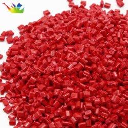 China ABS de color rojo, el PP, PE, PS, como el PET, PA, PC de Plástico Material modificado Pellet