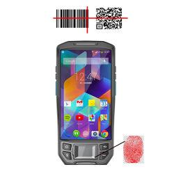 생체 인식 Palm PDA 지문 인식 시간 출결 바코드가 있는 핸드헬드 단말기 리더