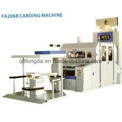 綿の回転のための綿の梳く回転の機械装置