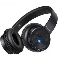 最もよい品質のMicサポートTFカードFMが付いているP30無線ヘッドホーンのBluetoothの耐久ヘッドセット