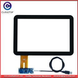 医学の容量性タッチ画面ガラス構造(CT-C8115)への12.1インチUSBインターフェイスガラス