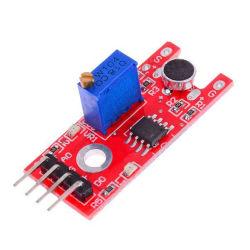 Nova chegada LM393 Módulo de sensor de som de voz do microfone para sensores de Saída Digital Analógico Arduino adoptar Módulos Chip principal