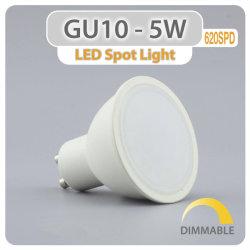 Горячие продажи на заводе Светодиодный прожектор GU10 5W 6W 7W Светодиодный прожектор GU10 початков с регулируемой яркостью Ce RoHS LED GU10 фонаря направленного света 7 Вт