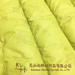 300t Dull Poliéster Nylon Fabric Taffeta 40d*40d Downproof Revestimento para casacos para baixo