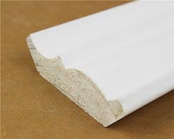 Китай строительных материалов на заводе питания высокого качества по конкурентоспособной цене OEM и ODM оформление материалов излучать электромагнитные волны сосновой древесины с покрытием Gesso литья под давлением