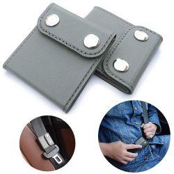 2pcs/régler le confort de l'épaule universelle lanière de cou Clips du positionneur du dispositif de réglage de ceinture de sécurité voiture véhicule cache de ceinture