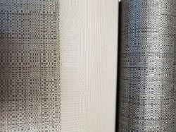 Tessuto di rinforzo del cotone del poliestere della maglia della tela di Osnabourg di Wallcovering