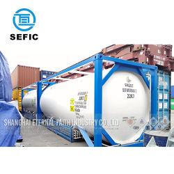 40ft 20ft liquide du réservoir de stockage de gaz utilisé ISO Conteneur (SEFIC-T11/T41/T50/T75)