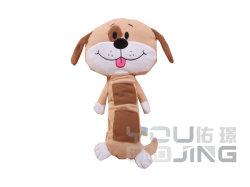 Cartoon Dog Estofamento do ombro do cinto de segurança sobre o carro Plush