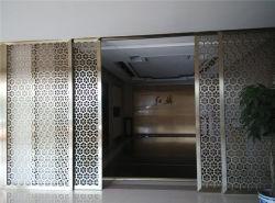 WohninnenverzierenEdelstahl-Trennwand, die Raum-Teiler schiebt