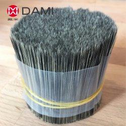 O plástico de Nylon poliéster PBT Pet fio de fibra de material de incandescência cerdas da escova para limpeza de Pintura Escova ferrugem